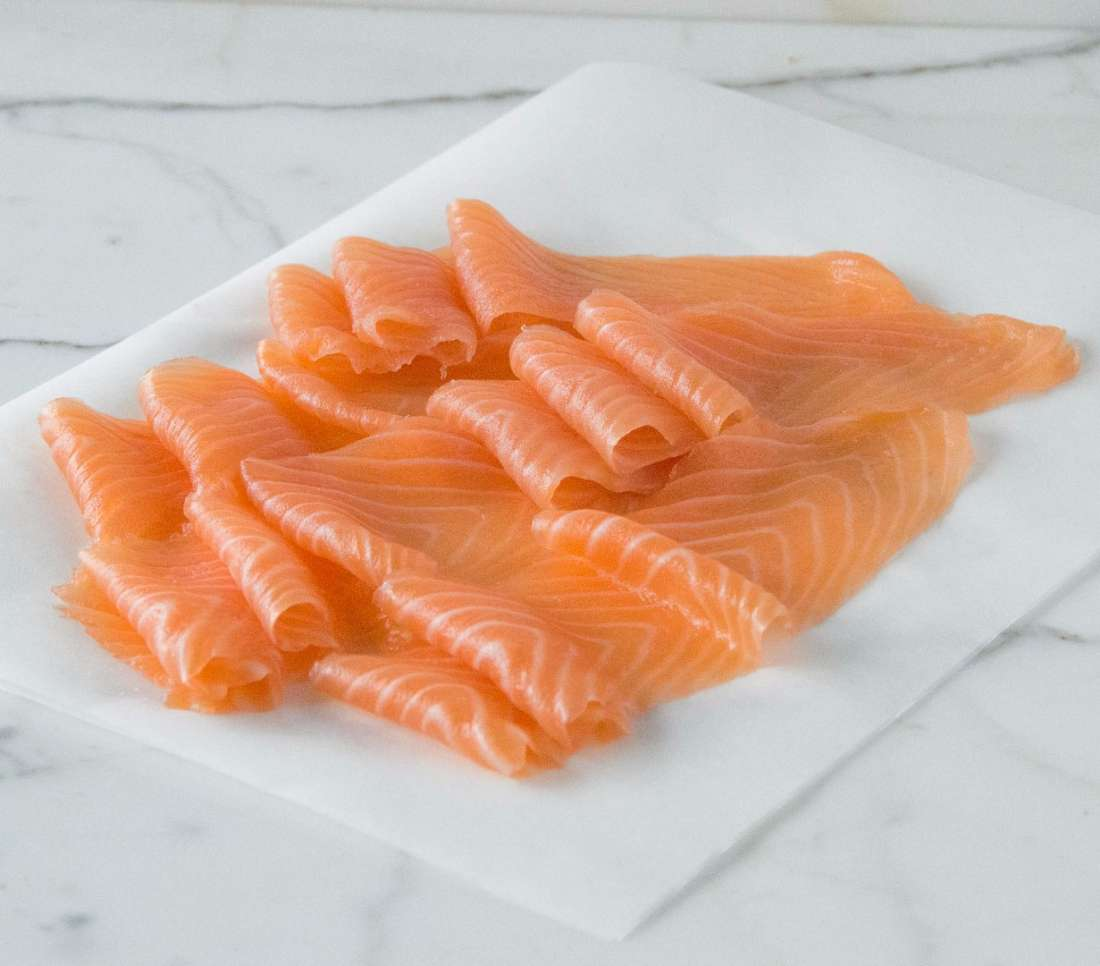London Cure Smoked Salmon - Small black gift pack