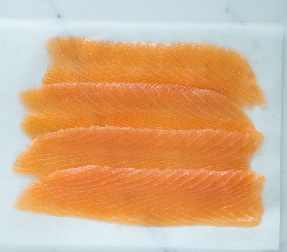London Cure Smoked Salmon - Large black gift pack